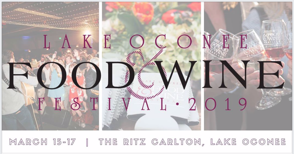Sponsoring The 2019 Lake Oconee Food & Wine Festival